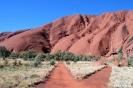 Uluru - pad naar DE rots