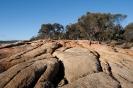 Freycinet Peninsula - rode rotsen