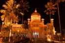Brunei - Moskee bij<br />nacht