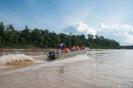 Kinabatangan - op de rivier