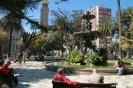 Valparaiso - Plaza<br />op 1e paasdag