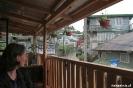 Sagada, koffie op de veranda van Salt&Pepper