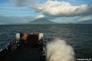 Op de ferry naar Isla Ometepe