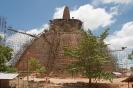 Anuradhapura - dagoba in de steigers