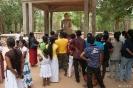 Anuradhapura - rond de buddha