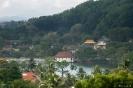 Kandy - uitzicht over meer
