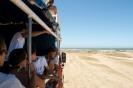 Cabo Polonio - met de truck door de duinen
